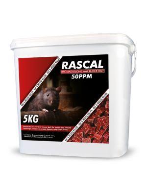 Rascal Bromadiolone Wax Block 5kg
