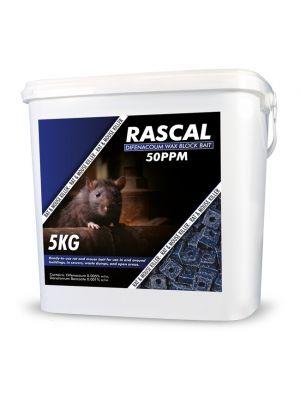 Rascal Difenacoum Wax Block 5kg