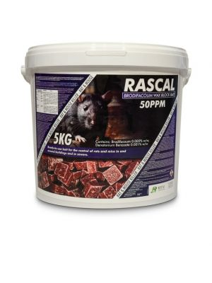 Rascal Brodifacoum Wax Block