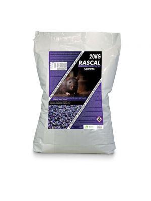 Rascal Brodifacoum Whole Wheat 20kg