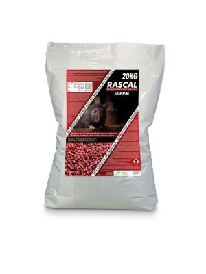 Rascal Bromadiolone Whole Wheat 20kg