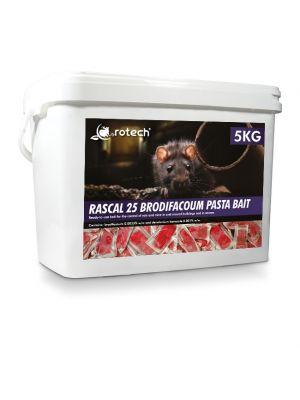 Rotech® Rascal 25 Brodifacoum Pasta Bait 5kg