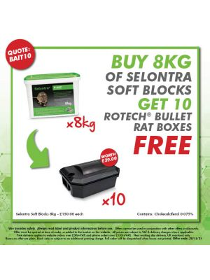 Buy 500 Rotech Mouse Boxes - Get 12 tubes of Talon Soft FREE