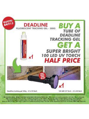 BAIT13 - Buy Deadline Tracking Gel, Get a LED UV torch half price